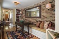 Cleaning Interior Exposed Brick Wall | Decoratingspecial.com