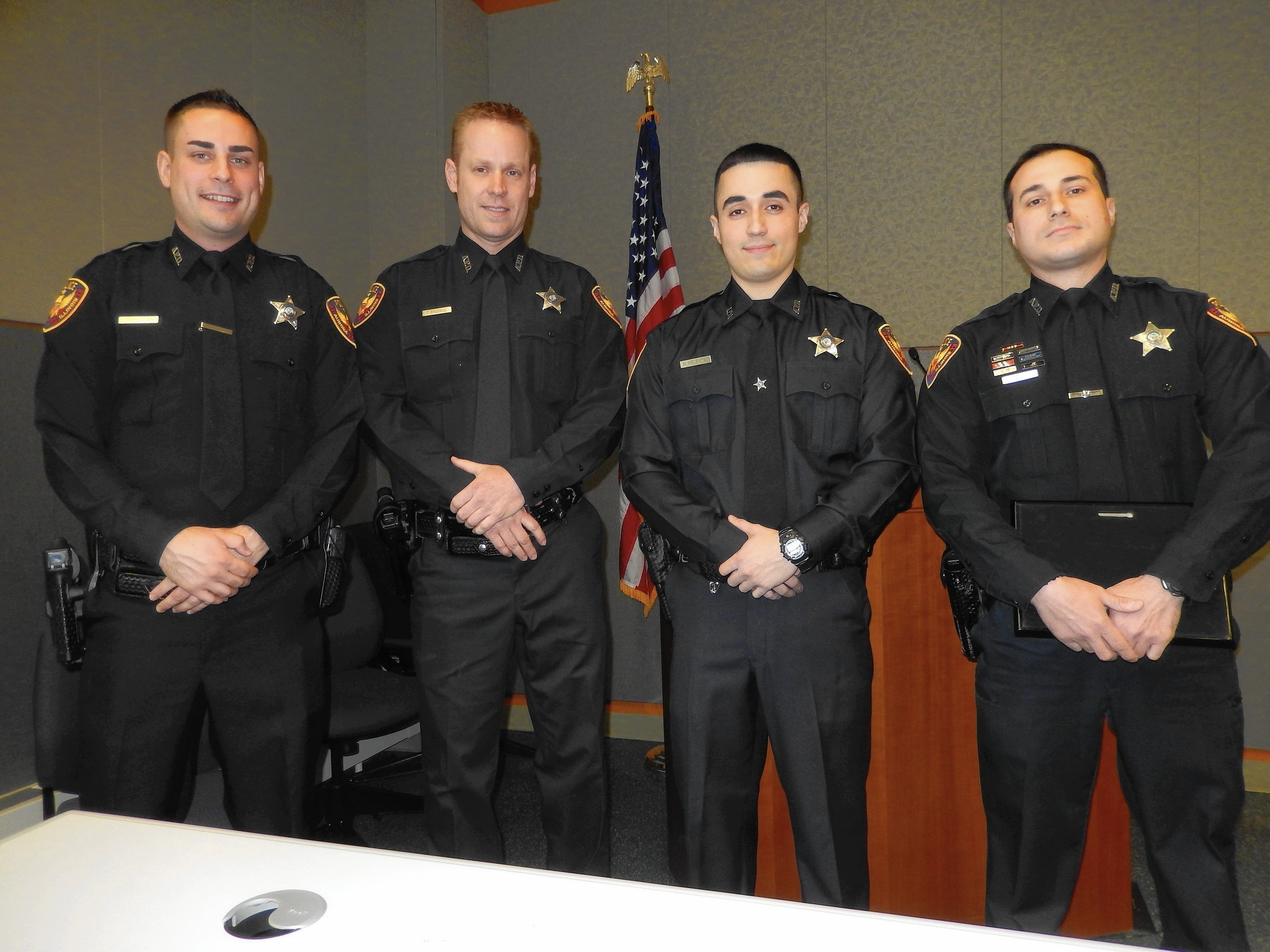 Aurora police honor four men as CoEmployees of Year  Aurora BeaconNews