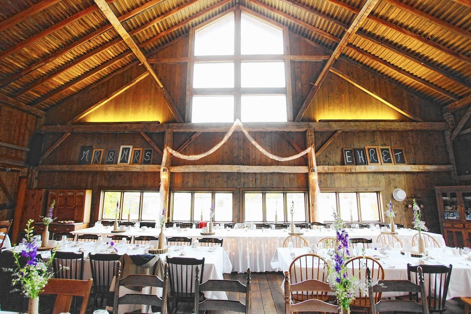 Midwestern barns offer surprisingly chic wedding venues