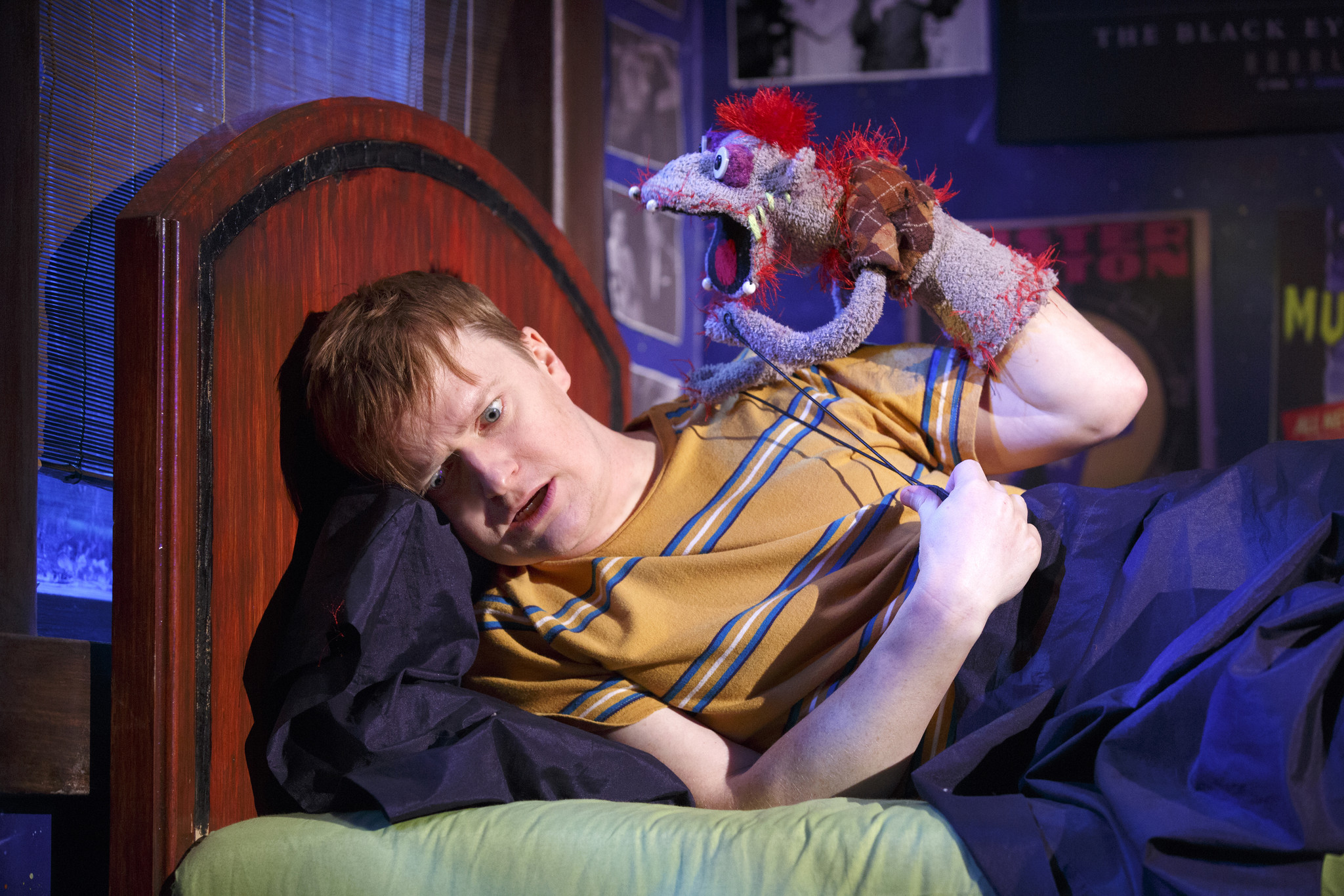 BROADWAY REVIEW In Hand to God a puppet speaks the unspeakable truth  Chicago Tribune