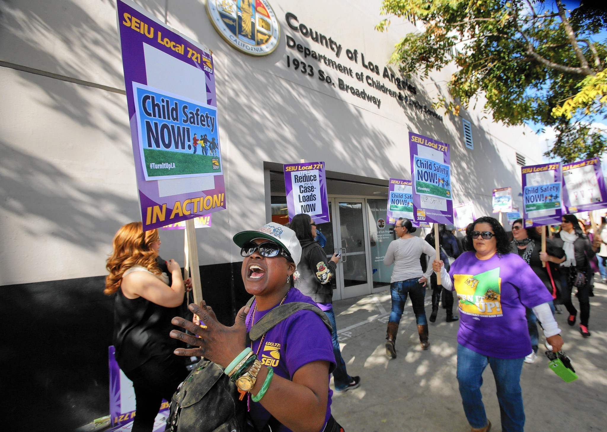 Proposed budget would add 542 childwelfare workers in LA