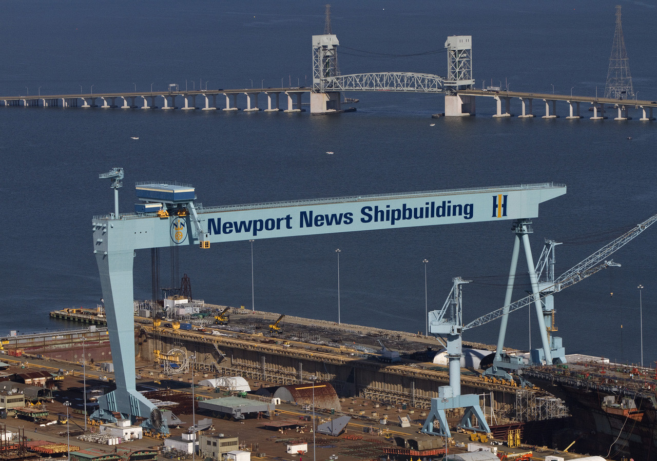Asbestos found in Newport News shipyard building Tests