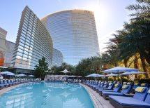Aria Resort and Casino Las Vegas Pool
