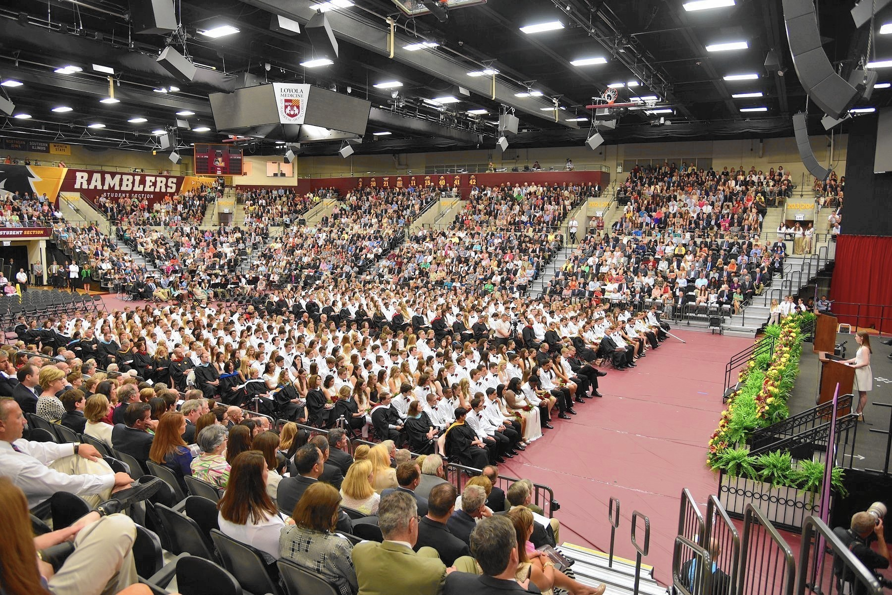 Loyola Academy crowns more than 450 at 105th commencement