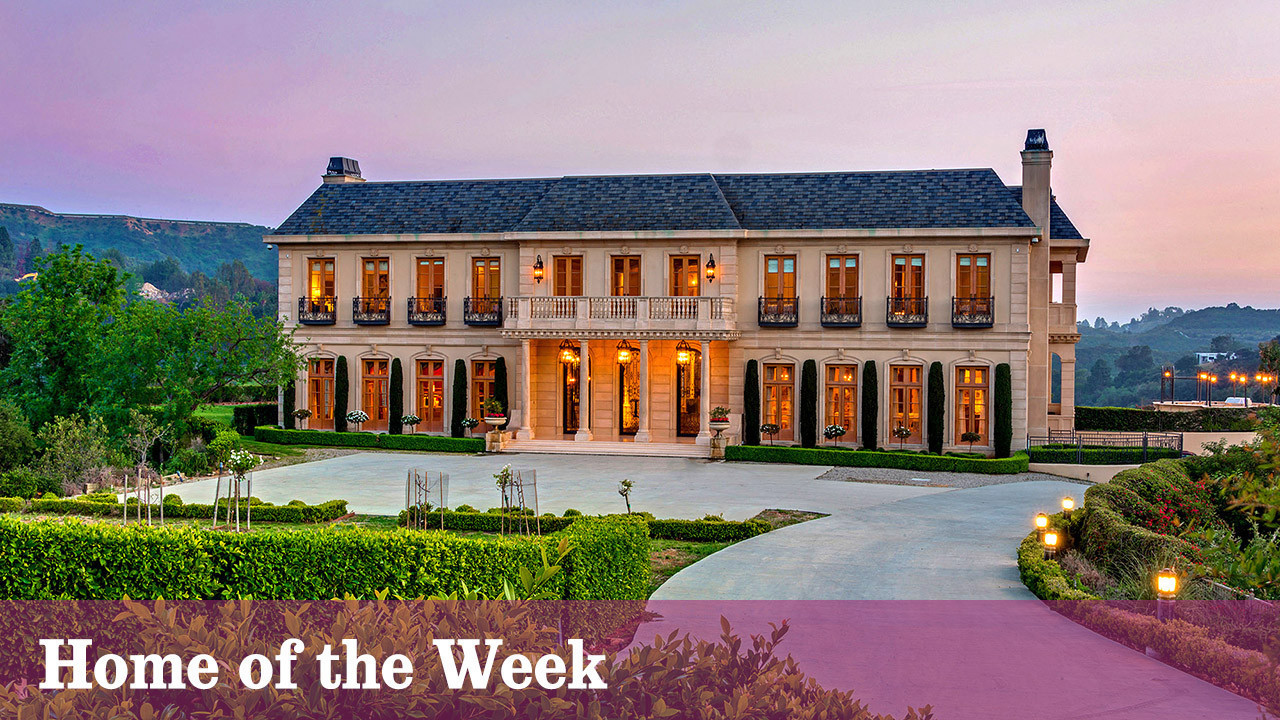 A Contemporary Take On French Chateau Style In The Beverly