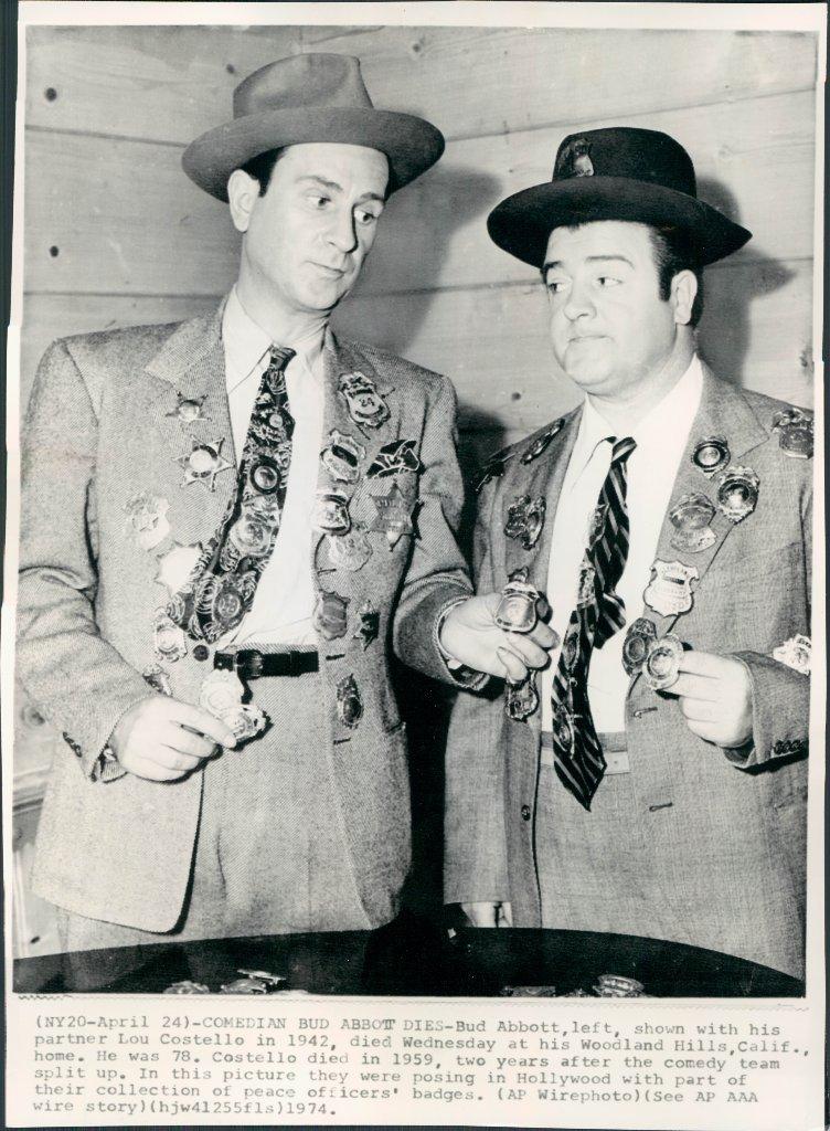 Abbott And Costello Baseball Routine