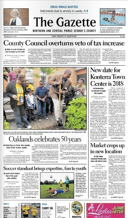 Washingtonarea Gazette newspapers folding  Bowie BladeNews