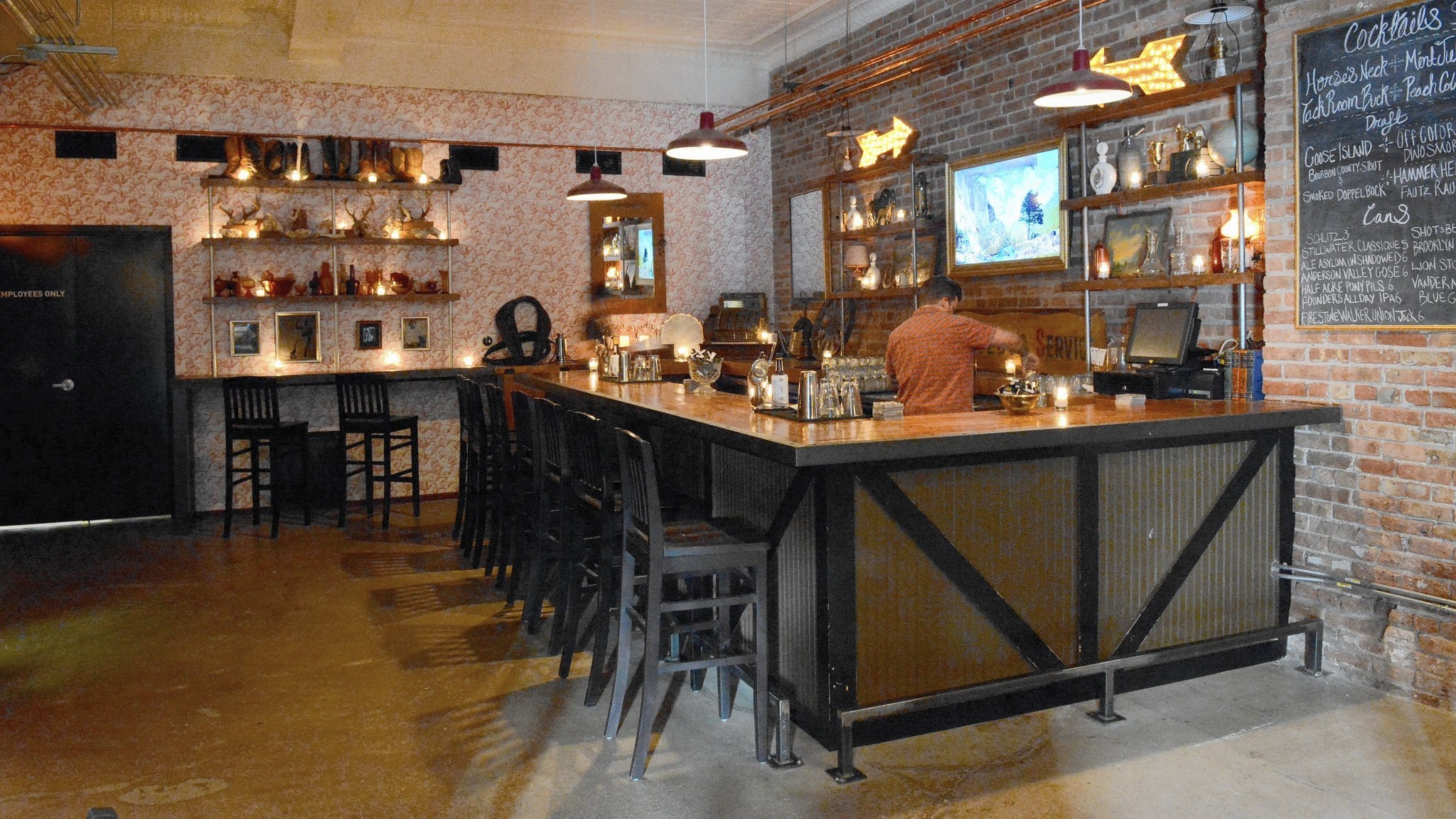 First look Tack Room a hipster piano saloon in Pilsen