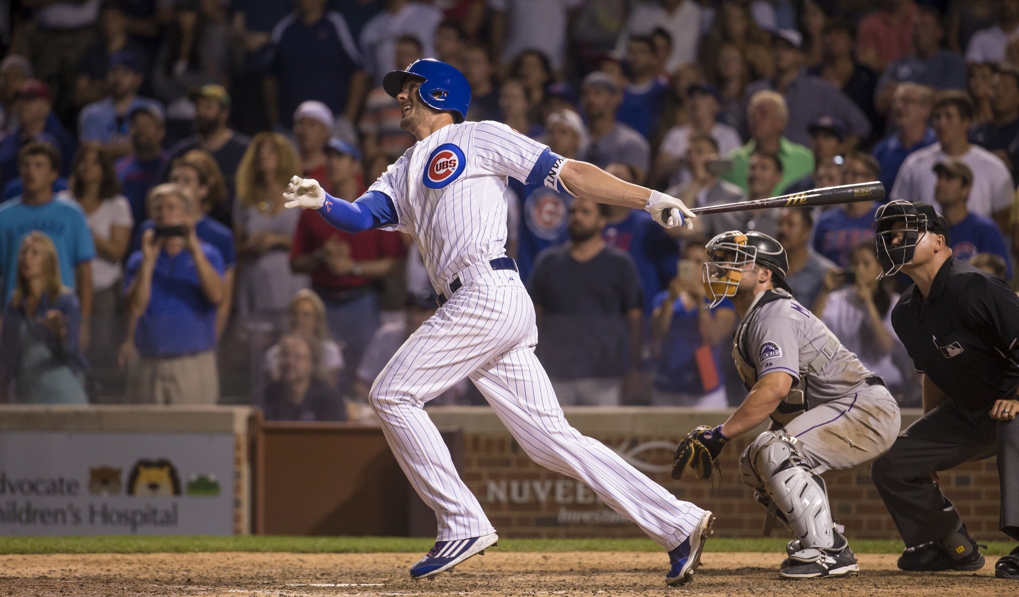 Kris Bryant provides Cubs with HR and save  Chicago Tribune
