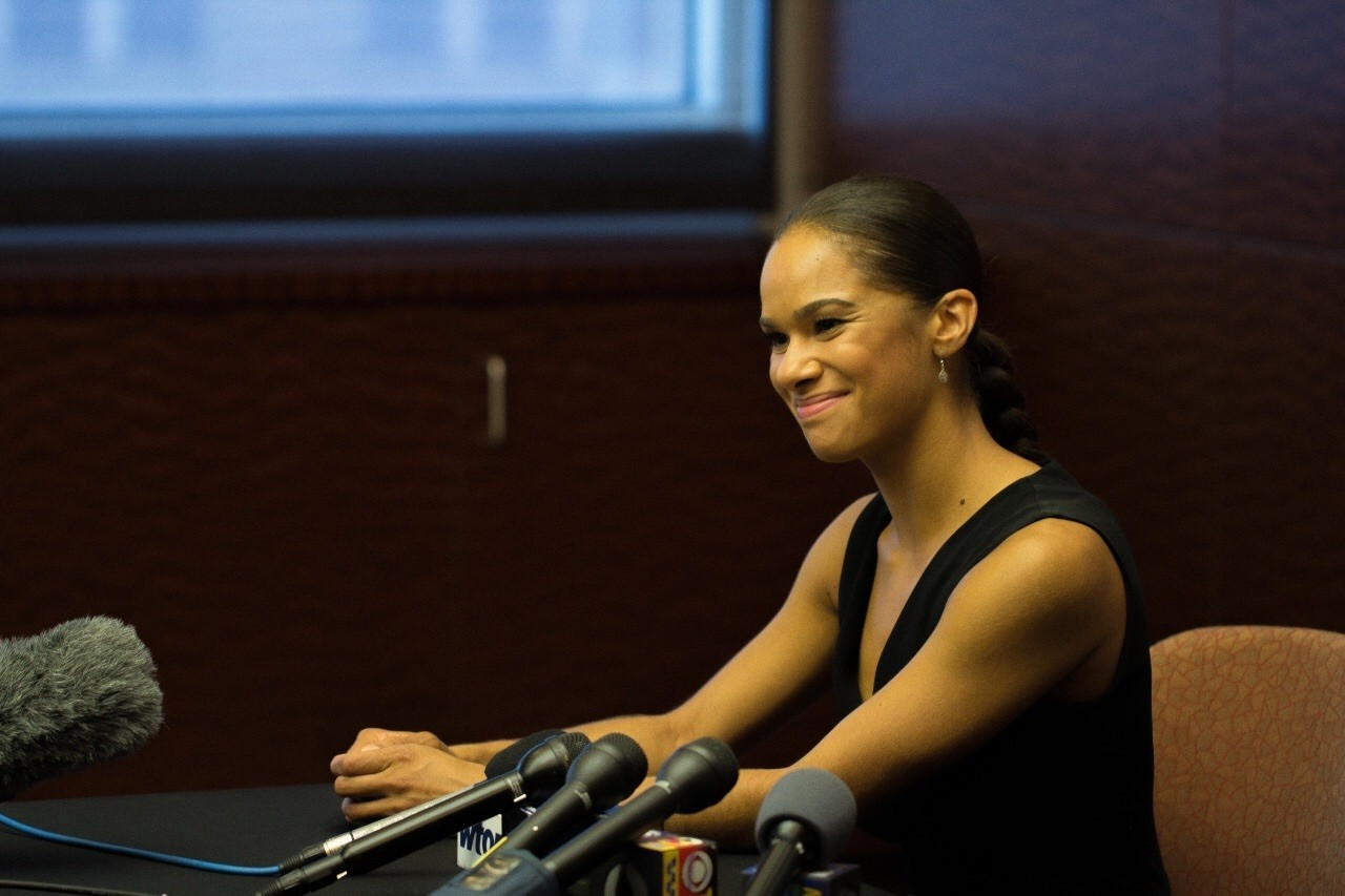 Misty Copeland first African American principal dancer at American Ballet Theater discusses