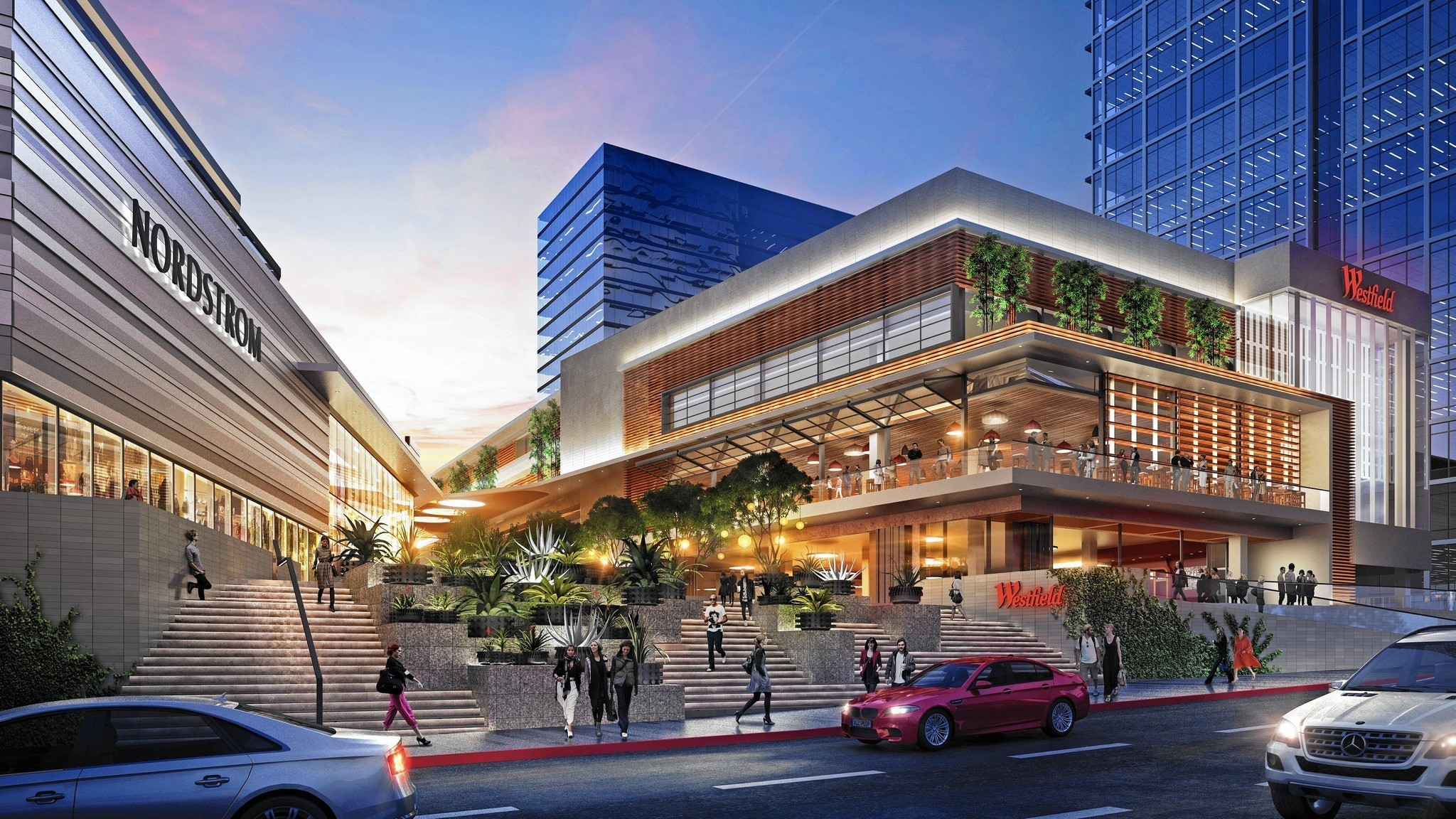 3d Brick Wallpaper Philippines Nordstrom And Eataly Are Helping Century City S Mall Go
