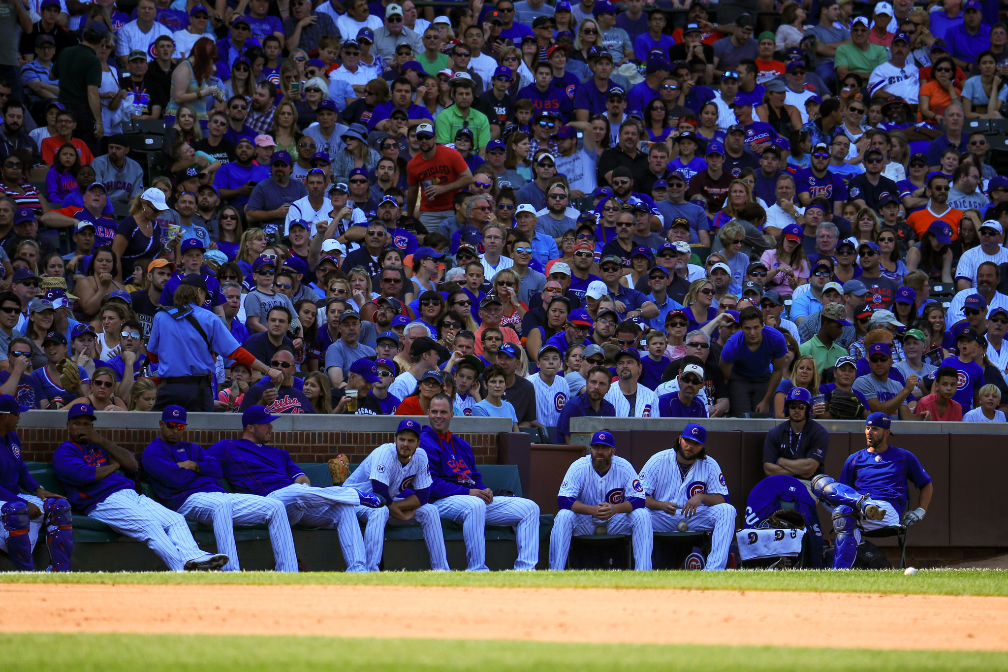 Bullpen chicken Cubs pitchers play strange game at