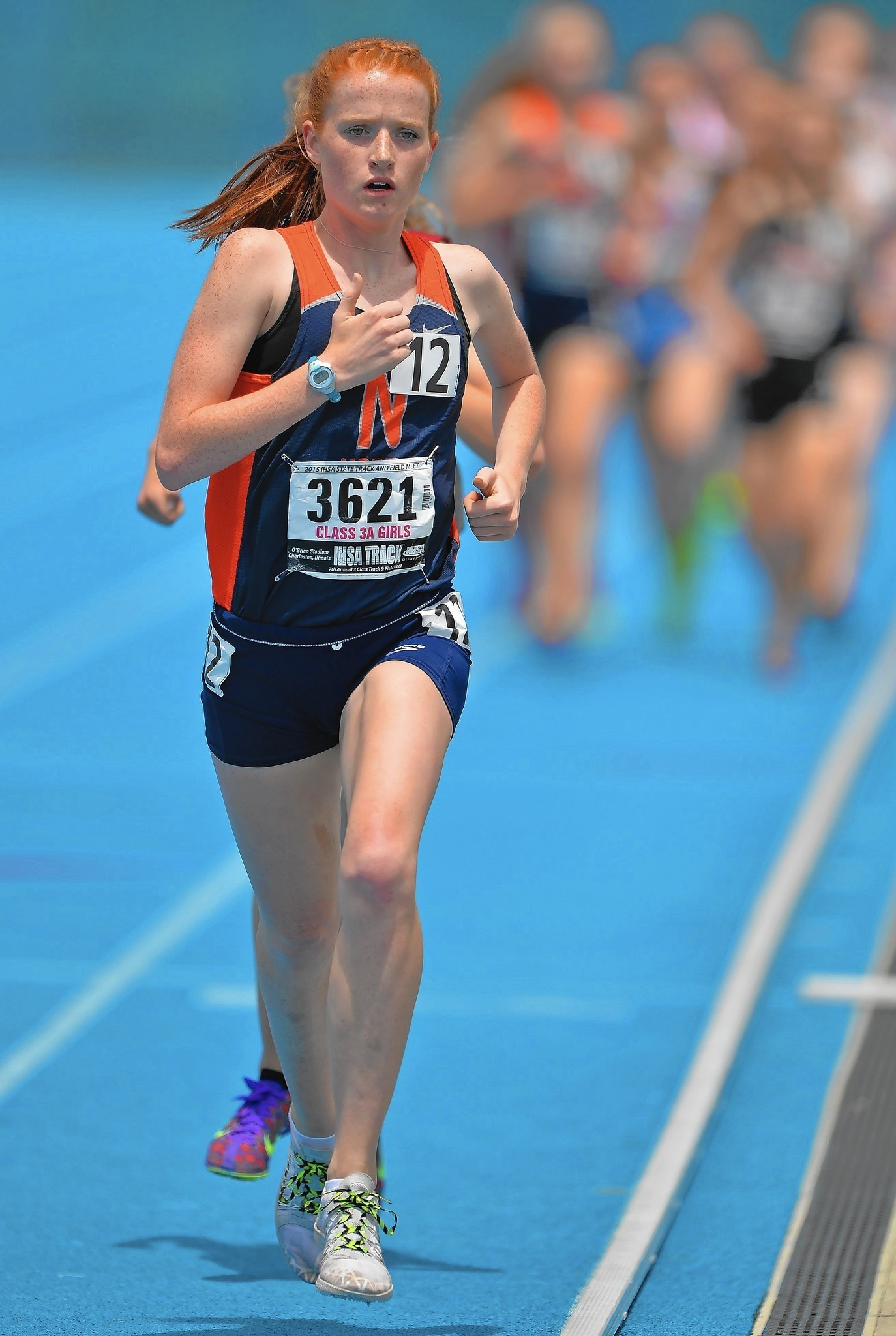 Judy Pendergast Naperville North eye another victory lap