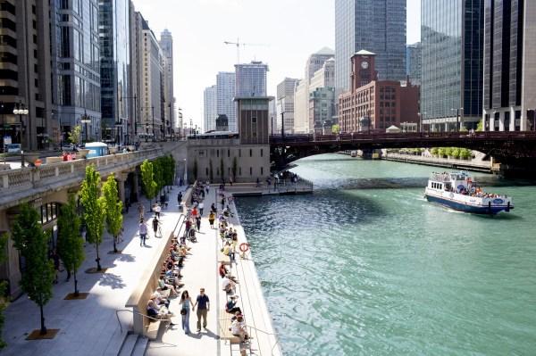 Enjoy Riverwalk. In Water. - Chicago