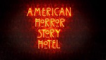 'american Horror Story Hotel' Title Sequence