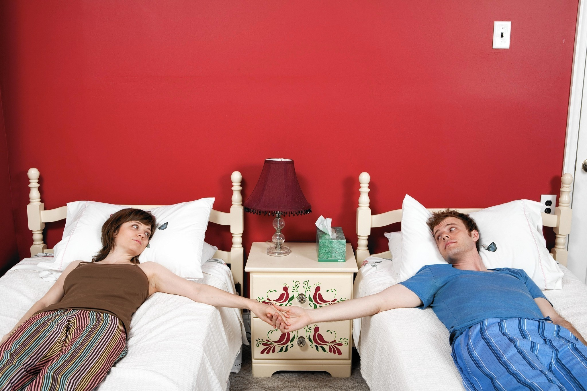 Happy couples separate beds The joy of sleeping apart