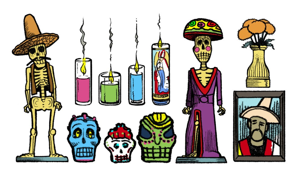 medium resolution of day of the dead clipart