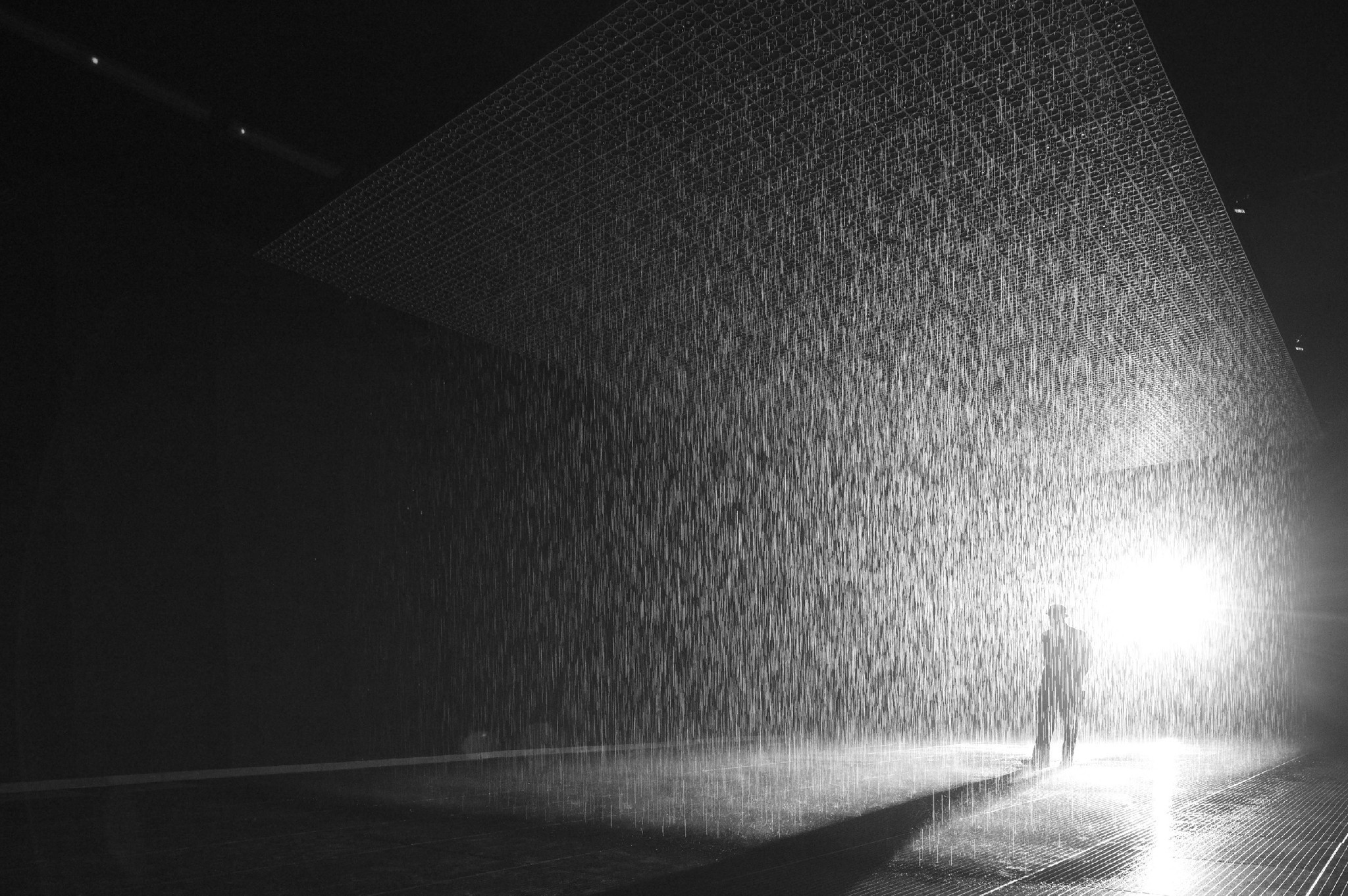 Wallpaper Falling Water Art For Instagram 3 Thoughts On Lacma S Rain Room La