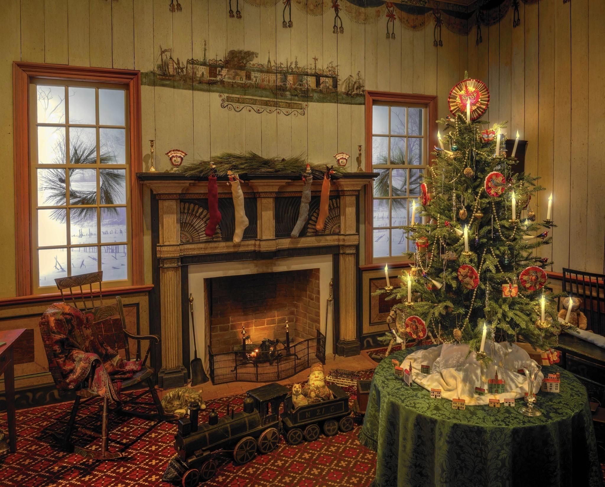 Cozy Fall Hd Wallpaper Colonial Williamsburg Christmas Exhibit Recalls The