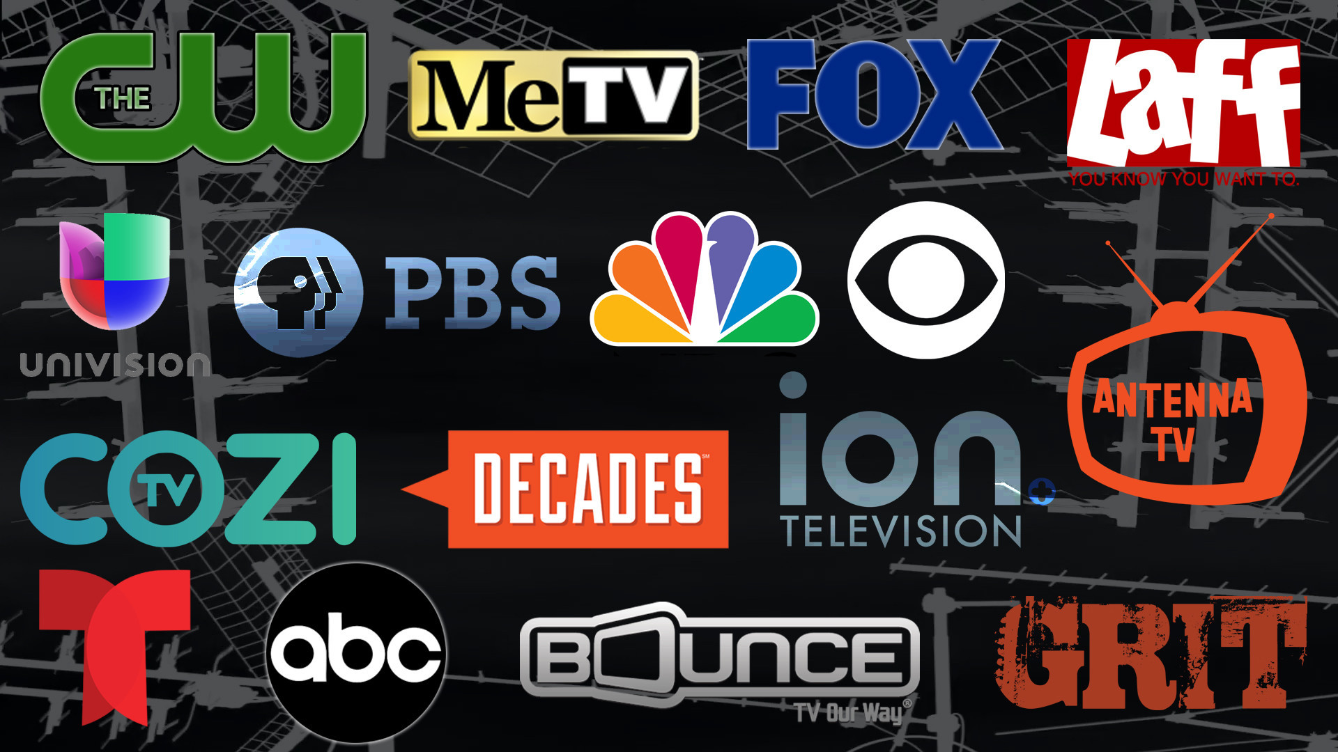 Cable channel blacked out Antenna TV still free for the
