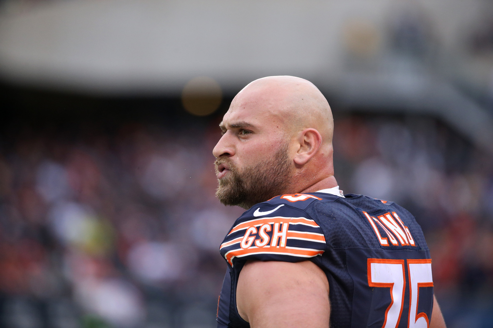Bears Kyle Long in no rush for contract extension