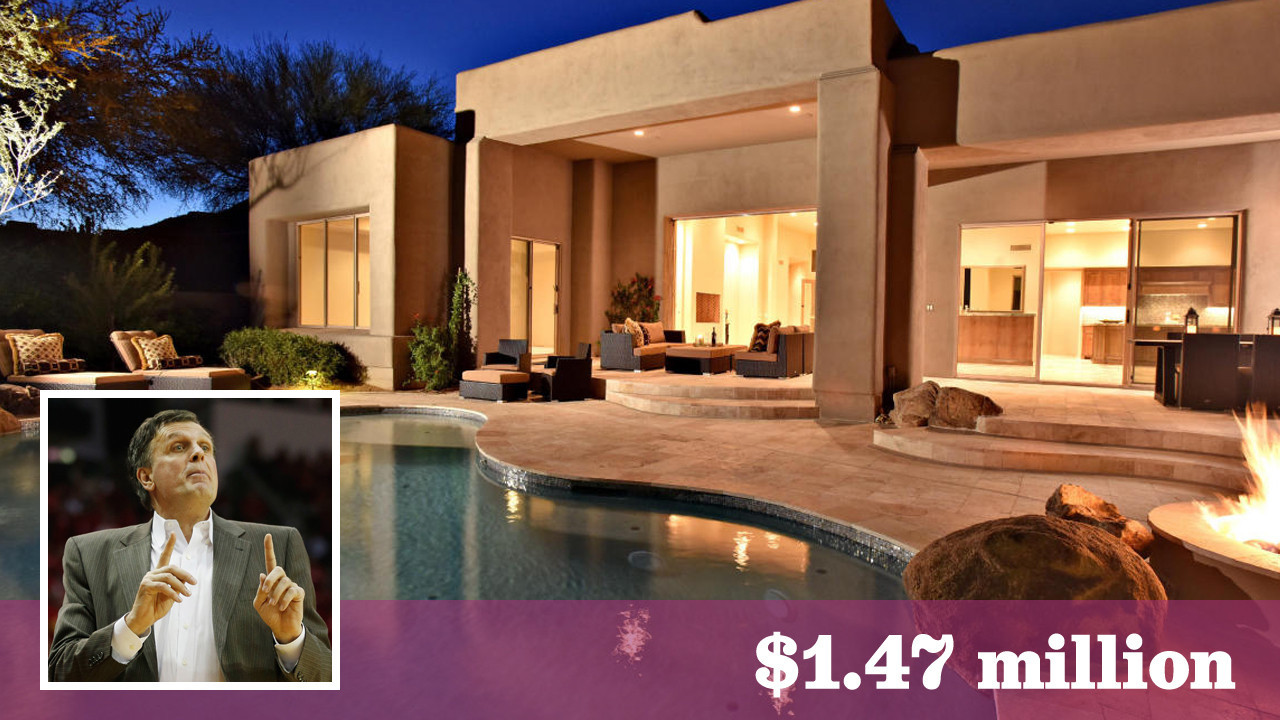 Former Rockets Coach Kevin Mchale Scores A Home In