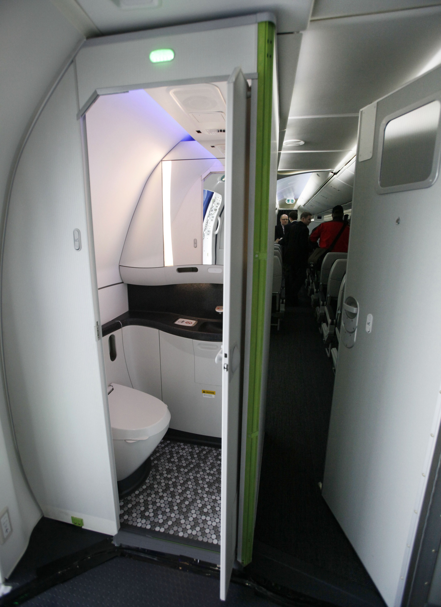 Why are airplane restroom standards going down the drain