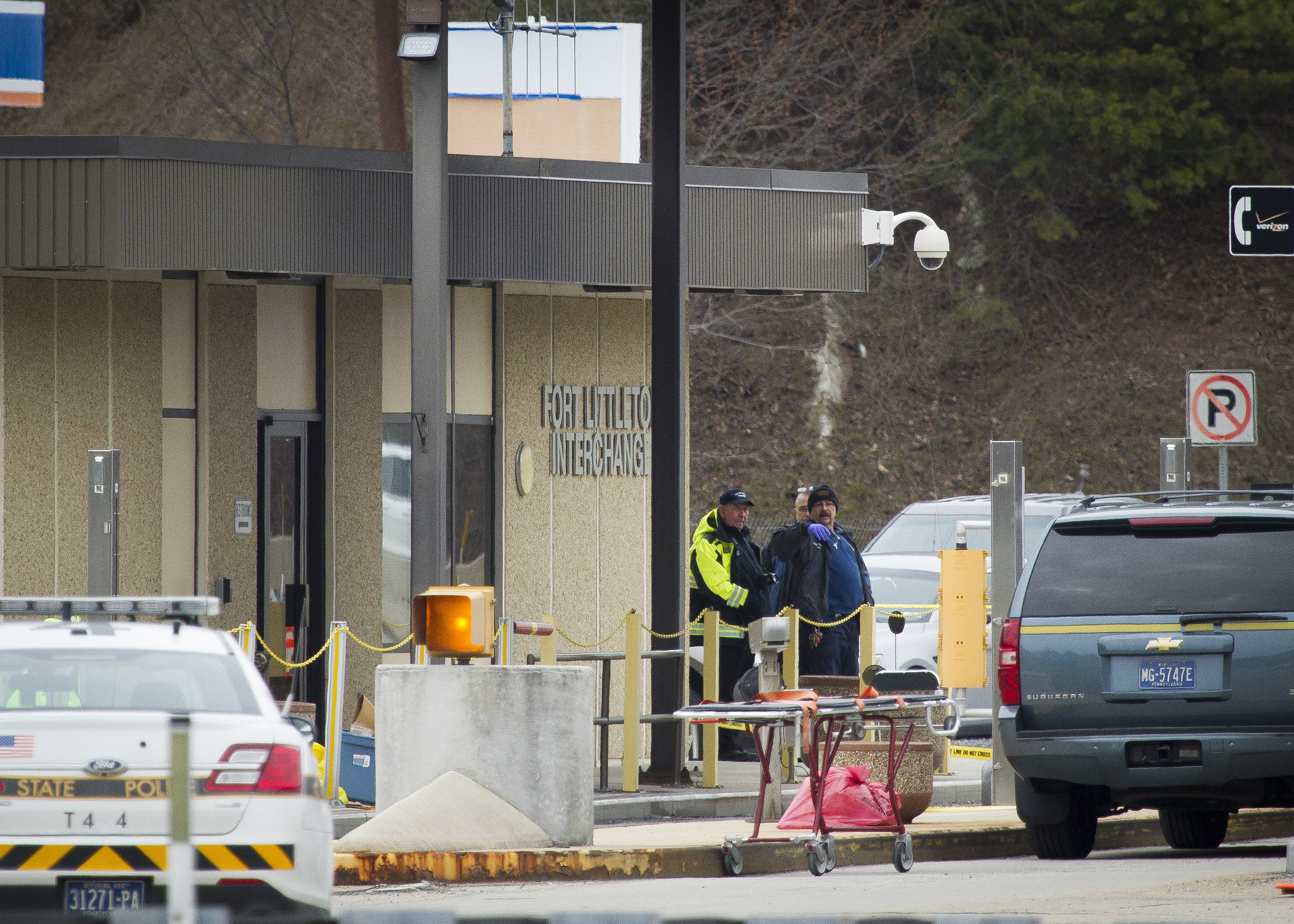 PICTURES Turnpike shooting in Fort Littleton  The