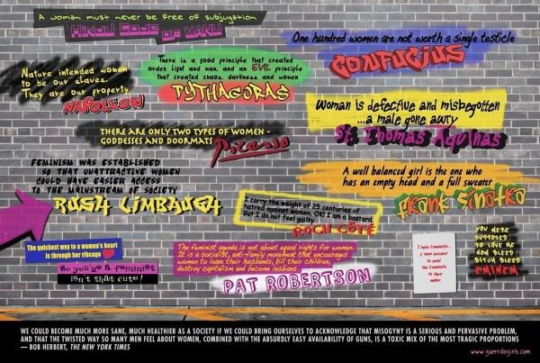 Guerrilla Girls' Gender Bias Exhibit Benton - Hartford