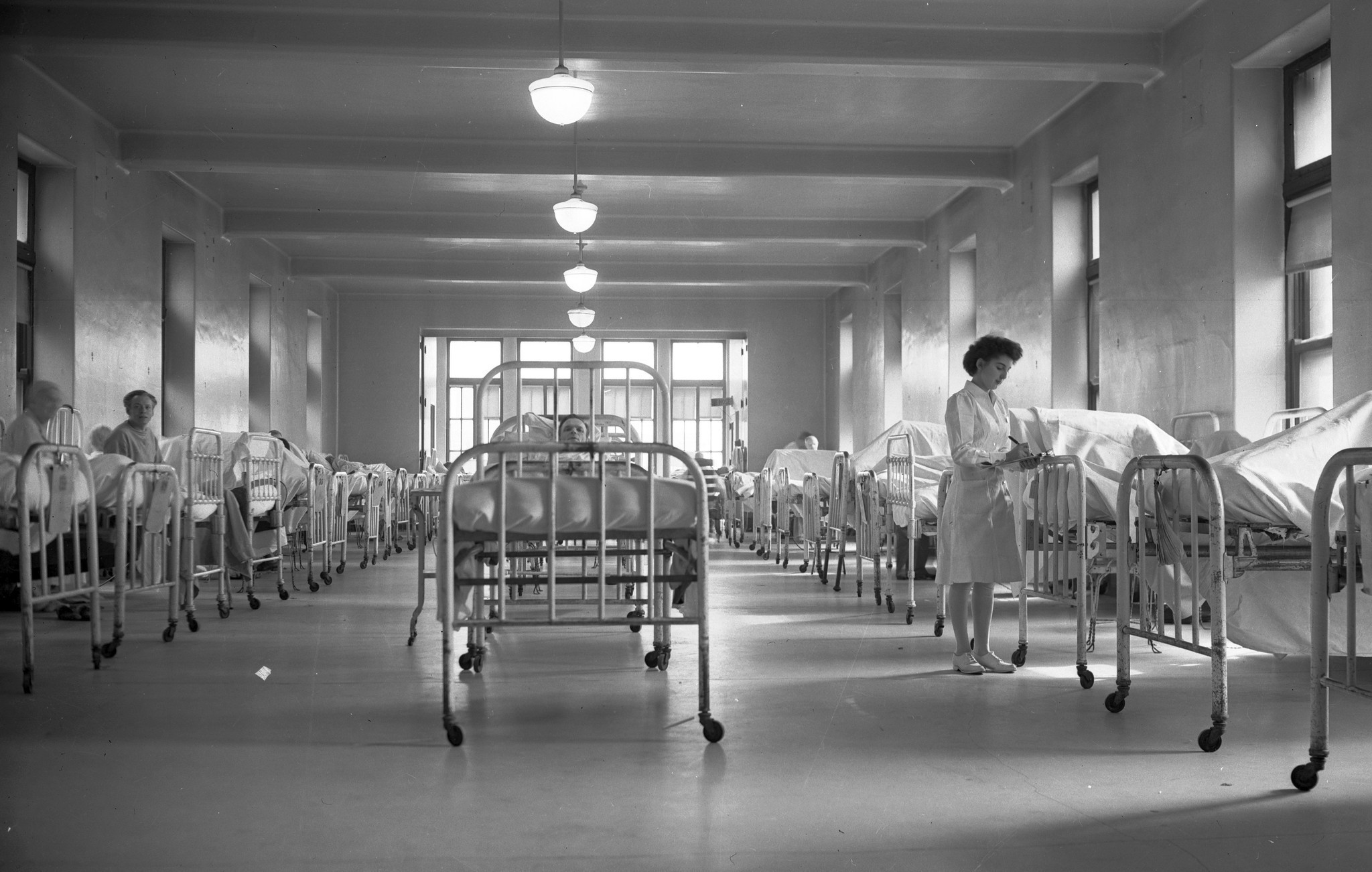 Communing with Cook County Hospitals ghosts of the past  Chicago Tribune