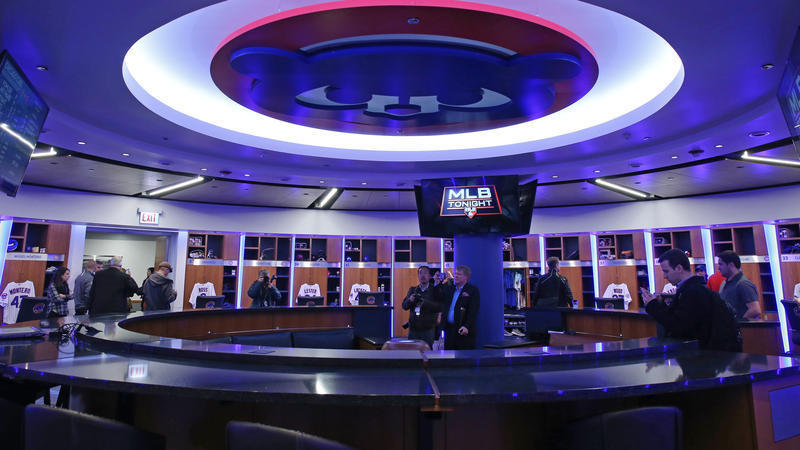 Look at Cubs underground lair reveals lavish new digs