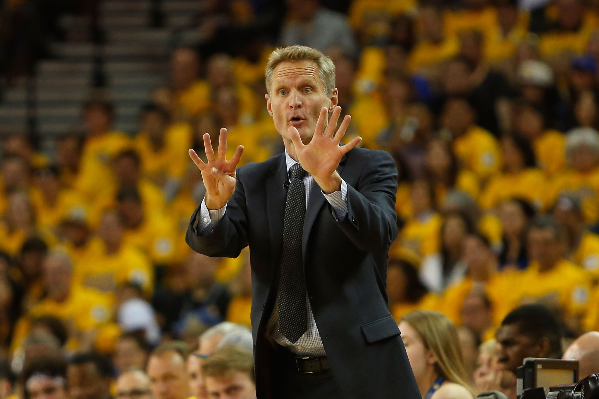 Golden States Steve Kerr wins Coach of the Year  Chicago Tribune