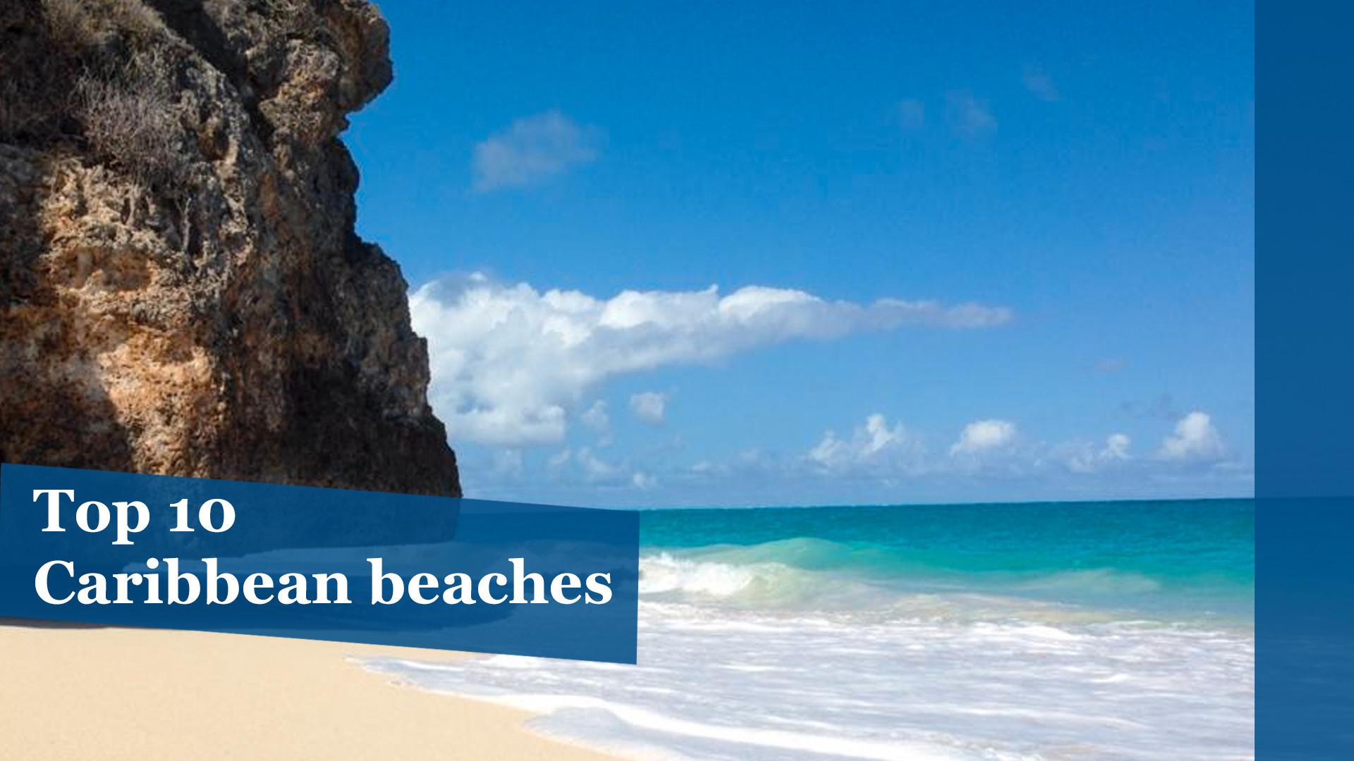 Top 10 Caribbean beaches  Chicago Tribune