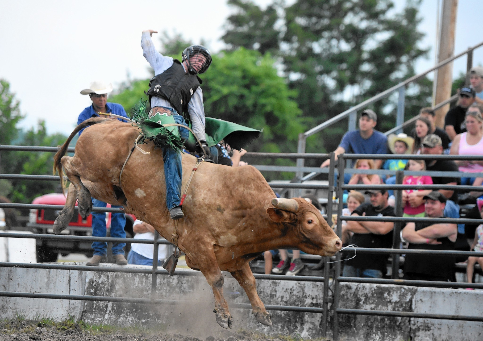 Riding Bulls Is Like Jumping Out Of An Airplane The Aegis
