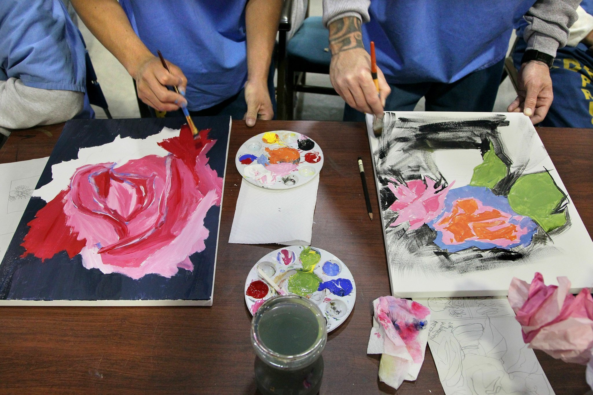 Miramar College professors art program helping inmates at