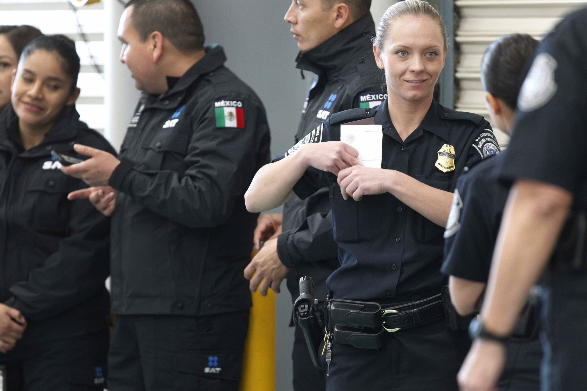 US and Mexico launch joint customs inspections in