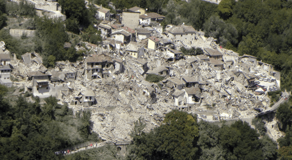 Destruction from Italy quake a grave warning for