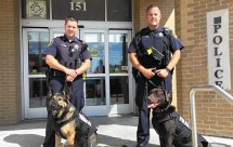 Two K9 Body Armor Vests Donated Mansfield Police Department - Year