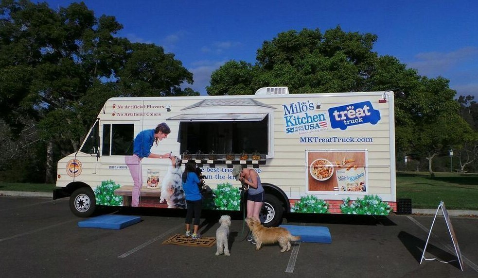 milos kitchen tools and gadgets dog treat maker milo s goes on tour with truck the san diego union tribune