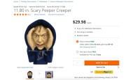 Home Depot pulls 'peeping Tom' Halloween decoration after ...