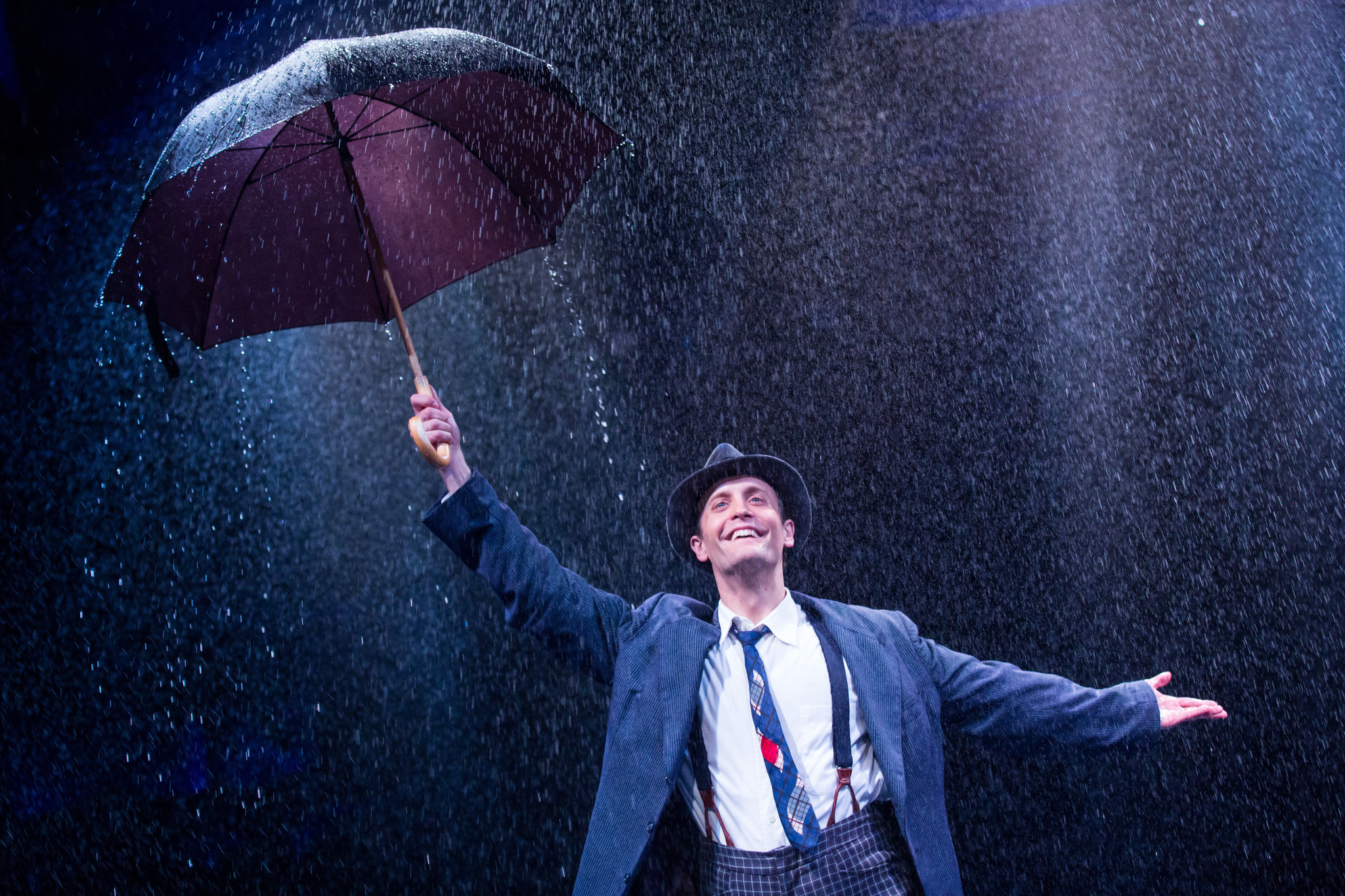 A happy day singing in the rain on the ballfield and at the Marriott  Chicago Tribune
