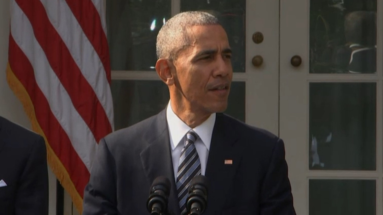 President Obama talks about the 2016 election and the