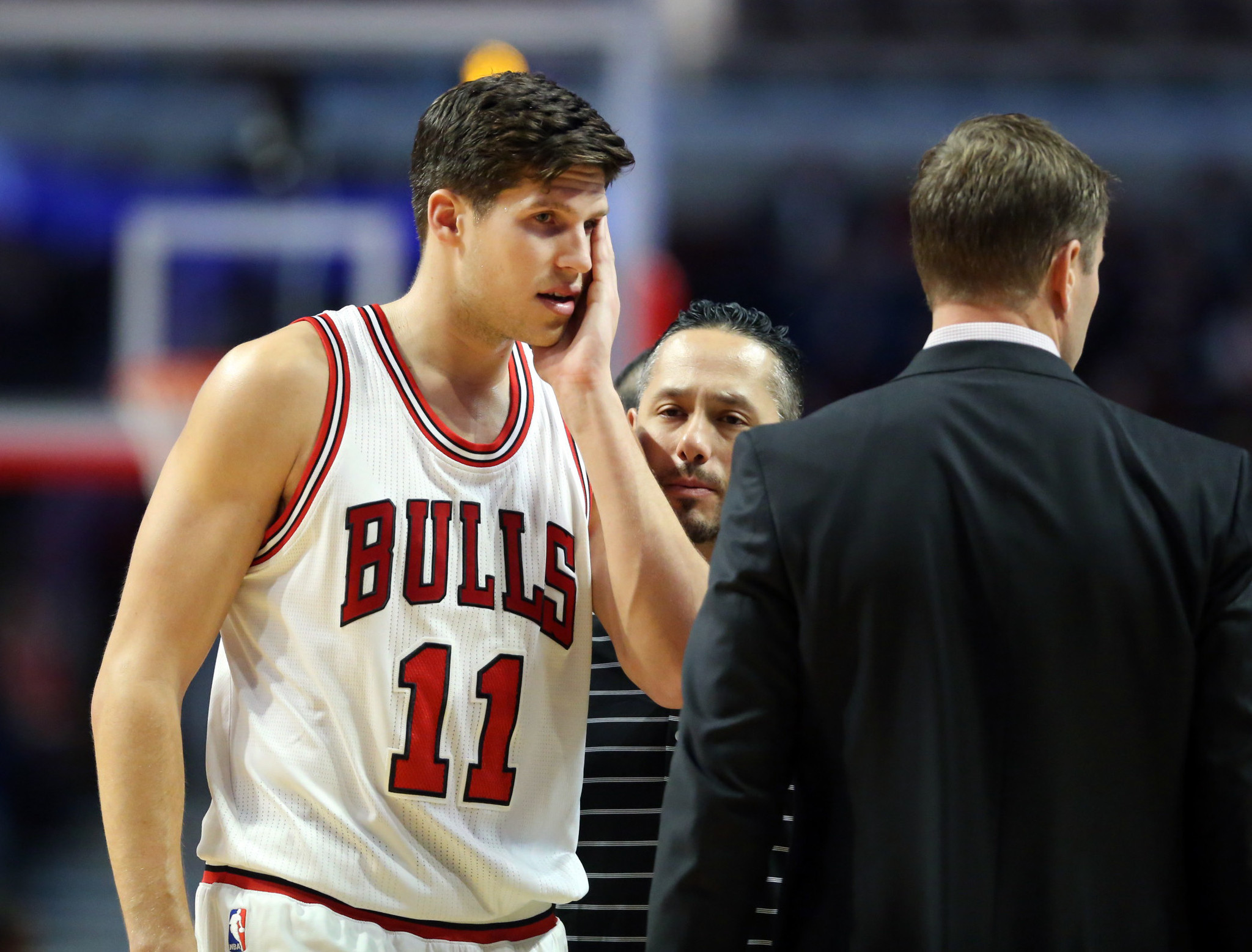 Doug McDermott not with Bulls on road trip because of