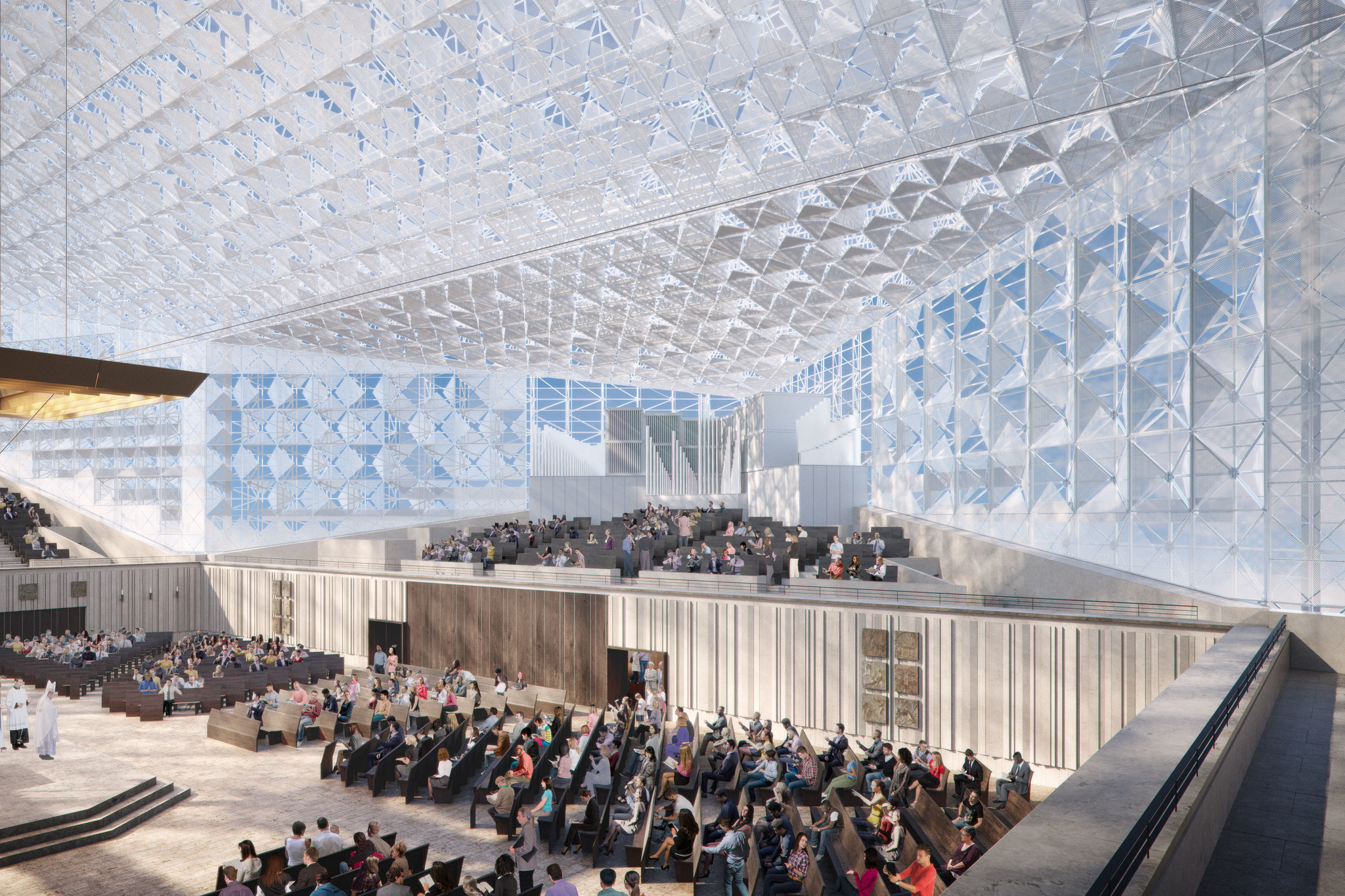 the crystal cathedral redesign