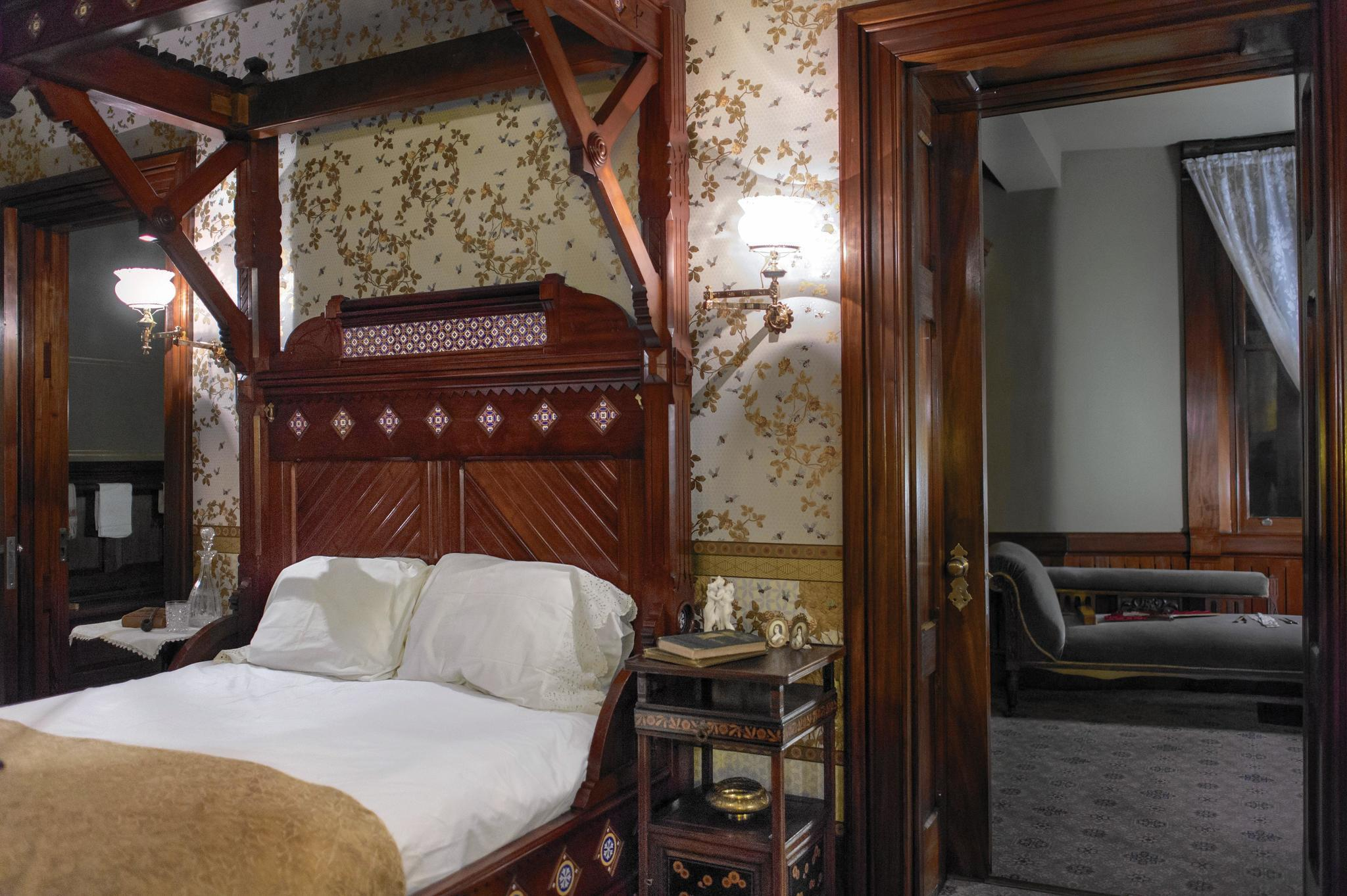 Mark Twain House Reopens Mahogany Suite  Hartford Courant