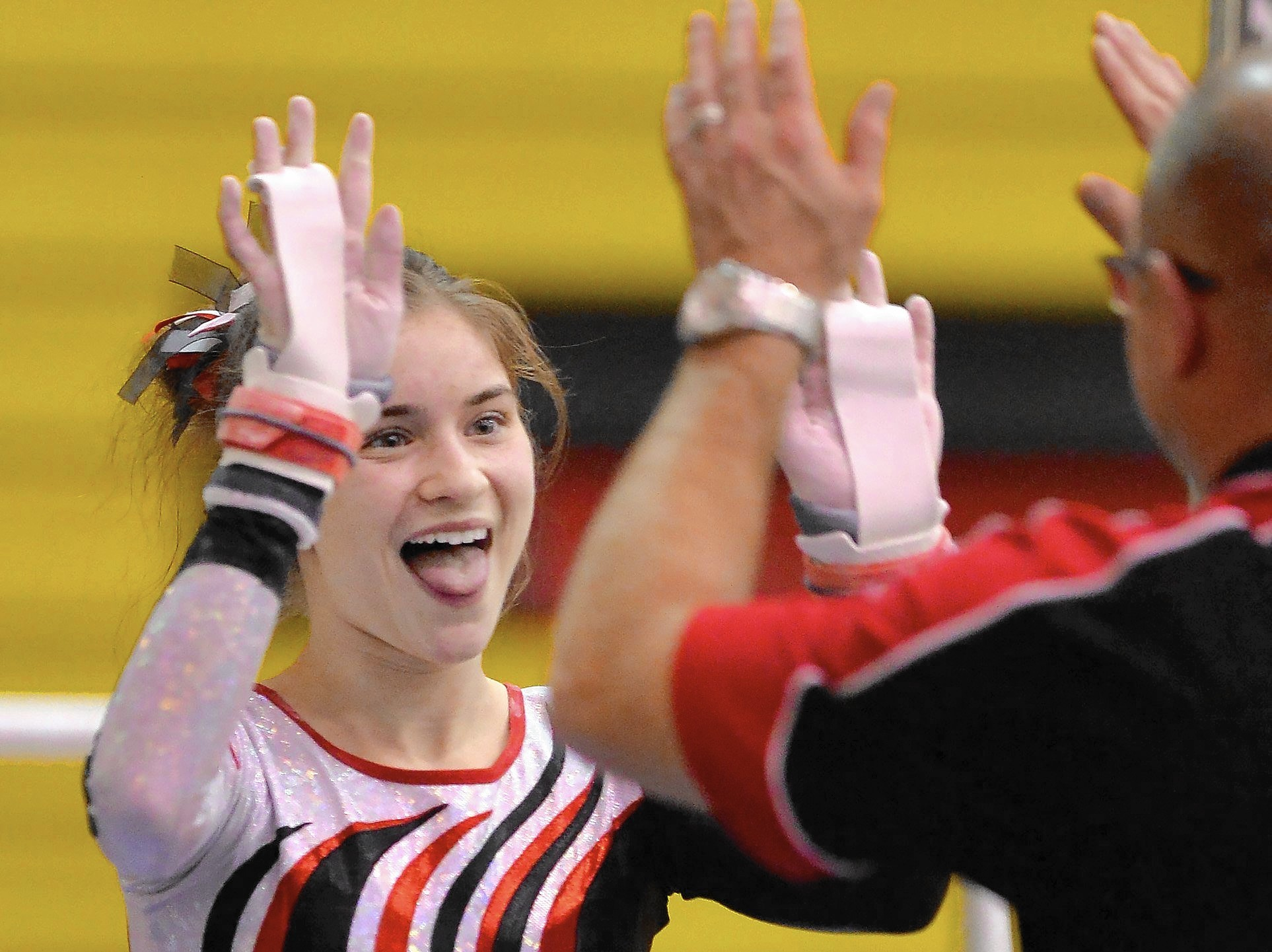 Barrington gymnast Hayley Nilles embraces role as momma duck  Barrington CourierReview
