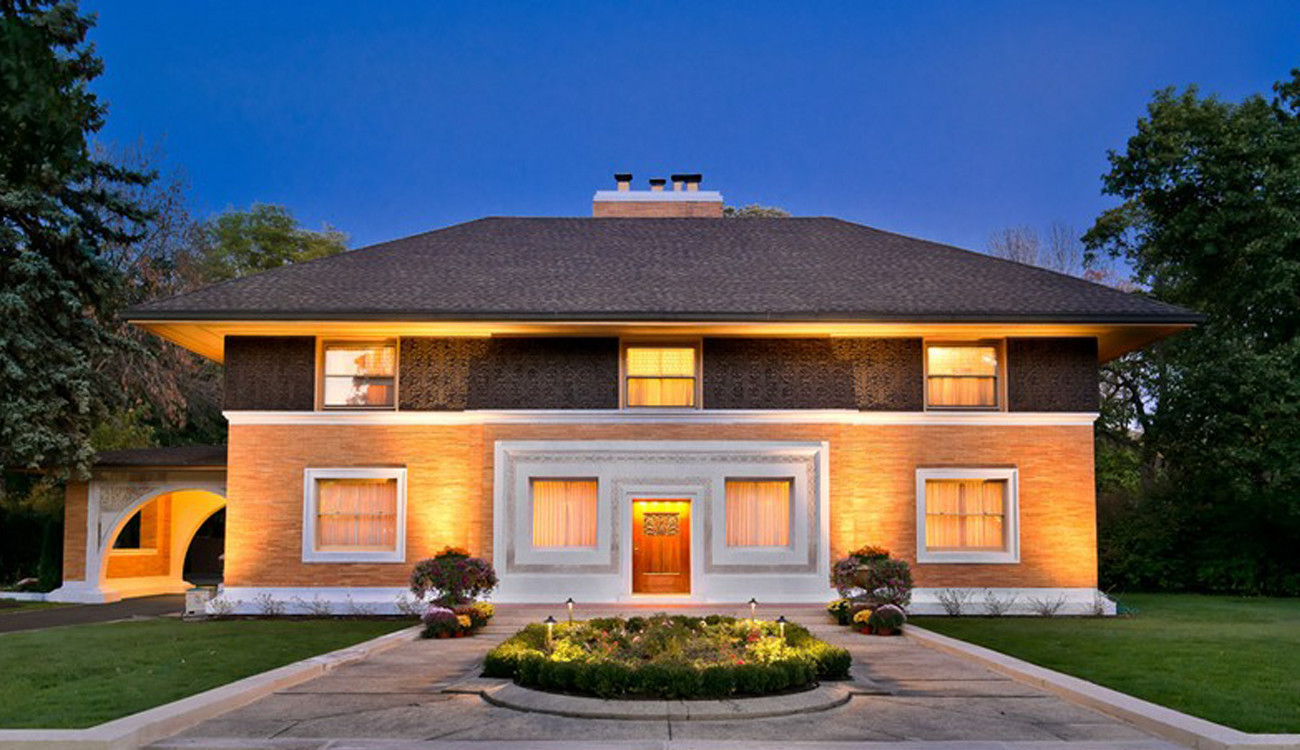 bronze kitchen appliances organizing frank lloyd wright's winslow house in river forest sells ...