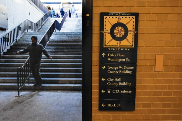 Confused Chicago' Pedway System '