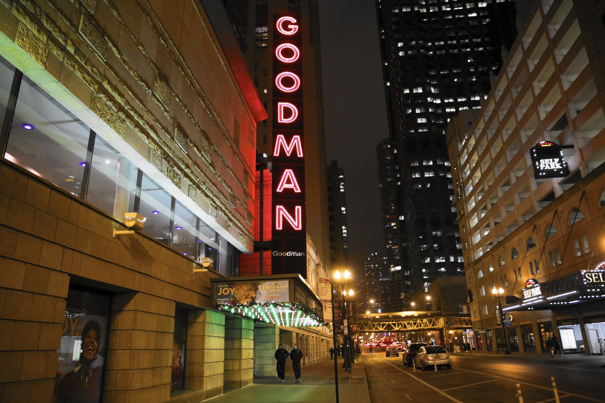 Goodman Theatre marquee to light up downtown once again