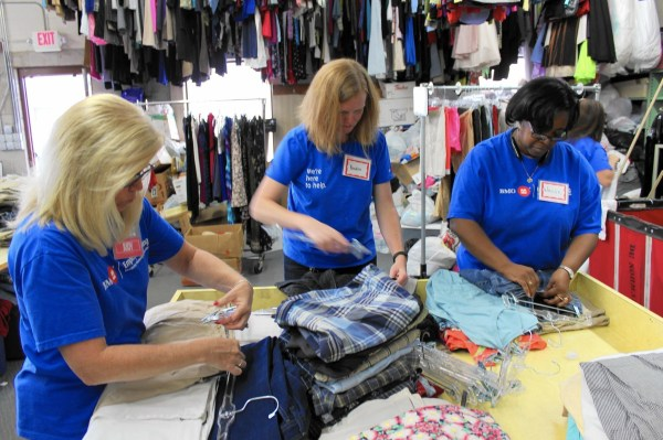 Thrift store a natural fit for Bridge teens volunteers